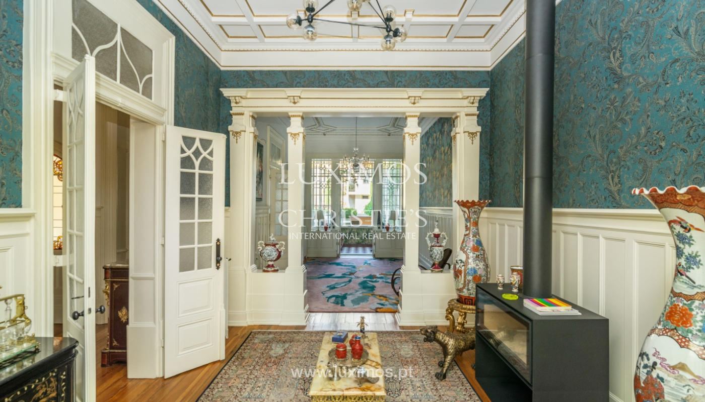Villa de lujo rehabilitada con jardines, en centro de Porto, Portugal_141349