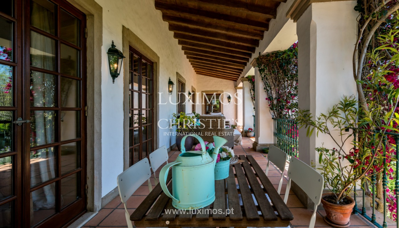 Villa for sale with pool, terrace, garden, in Loulé, Algarve, Portugal_141474
