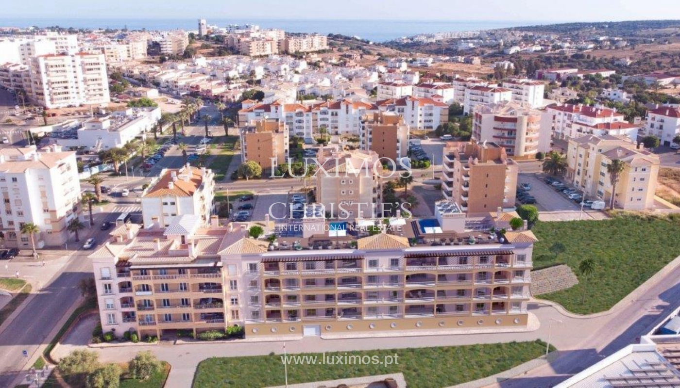 Sale of apartment under construction, terrace, Lagos, Algarve, Portugal_141524