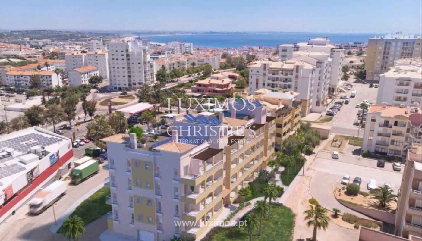 Sale of apartment under construction, terrace, Lagos, Algarve, Portugal_141595