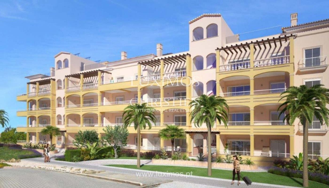 Sale of apartment under construction, terrace, Lagos, Algarve, Portugal_141596