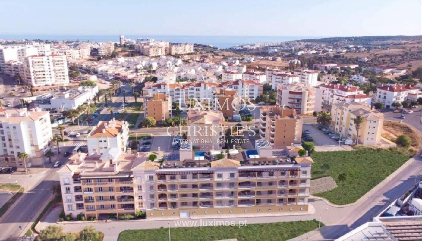 Sale of apartment under construction, terrace, Lagos, Algarve, Portugal_141597