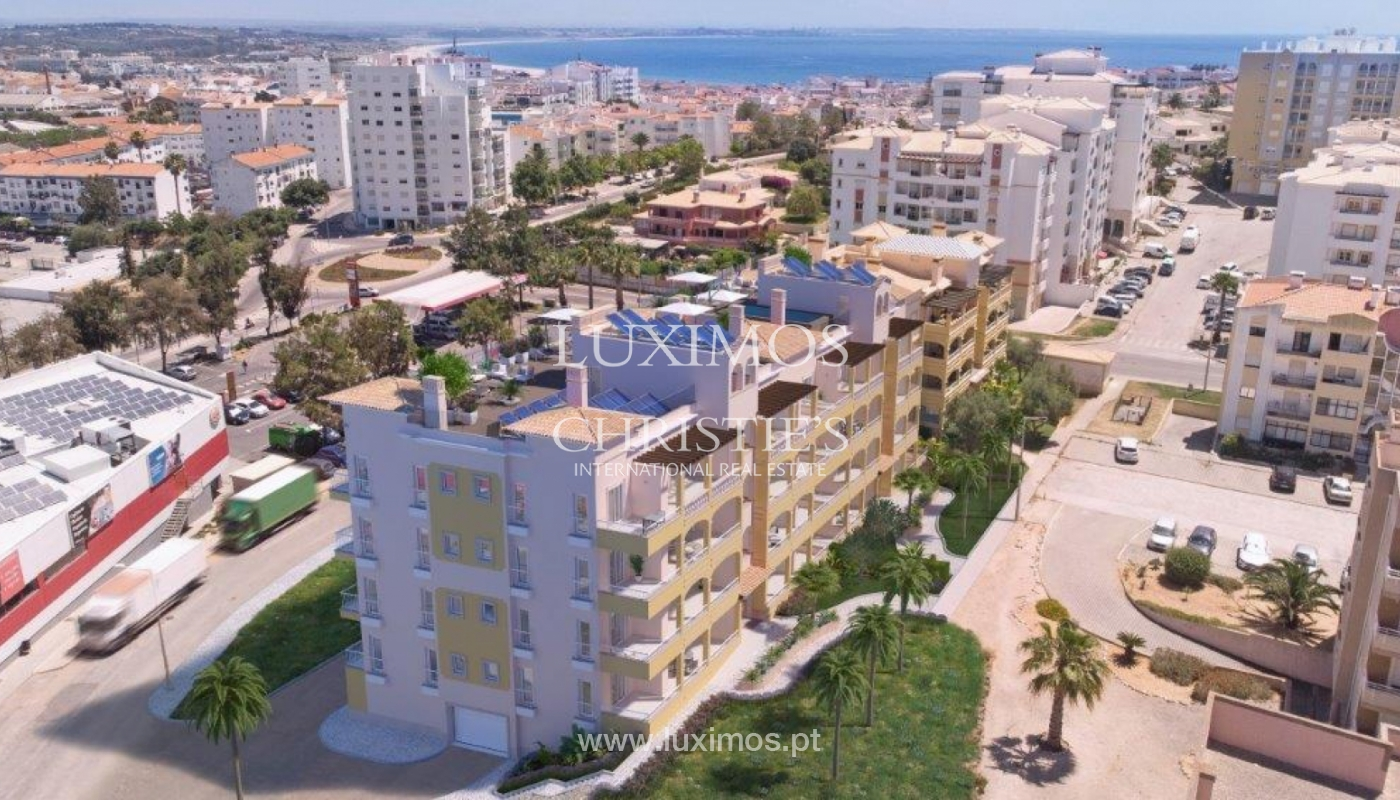 Sale of apartment under construction, terrace, Lagos, Algarve, Portugal_141598