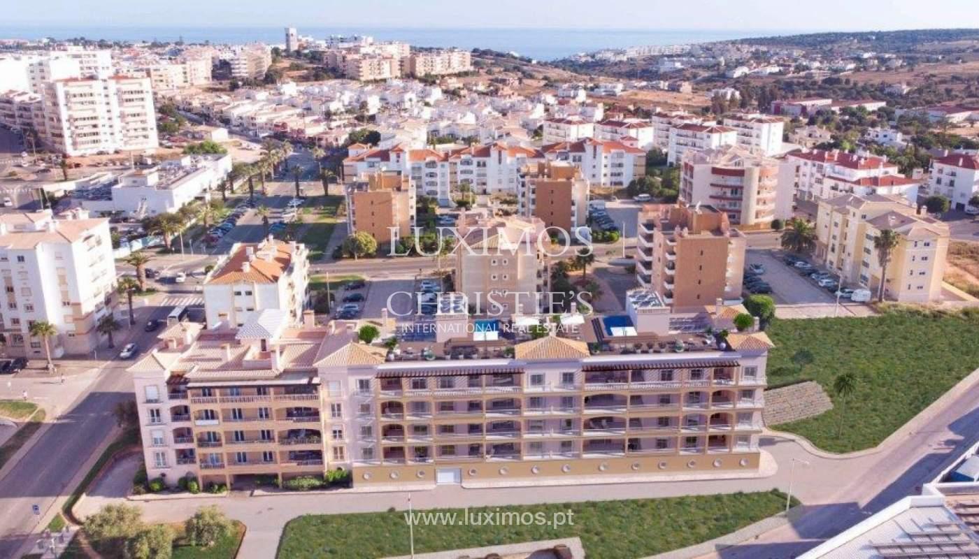Sale of apartment under construction, terrace, Lagos, Algarve, Portugal_141599