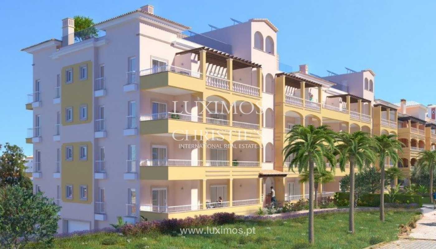 Sale of apartment with terrace under construction in Lagos, Algarve, Portugal_141633