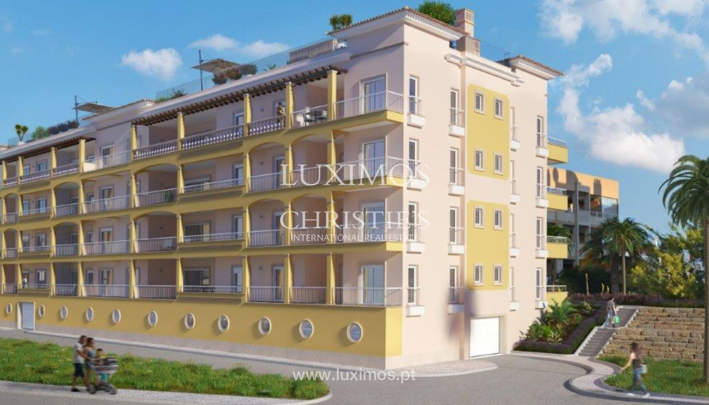 Sale of apartment with terrace under construction in Lagos, Algarve, Portugal_141635