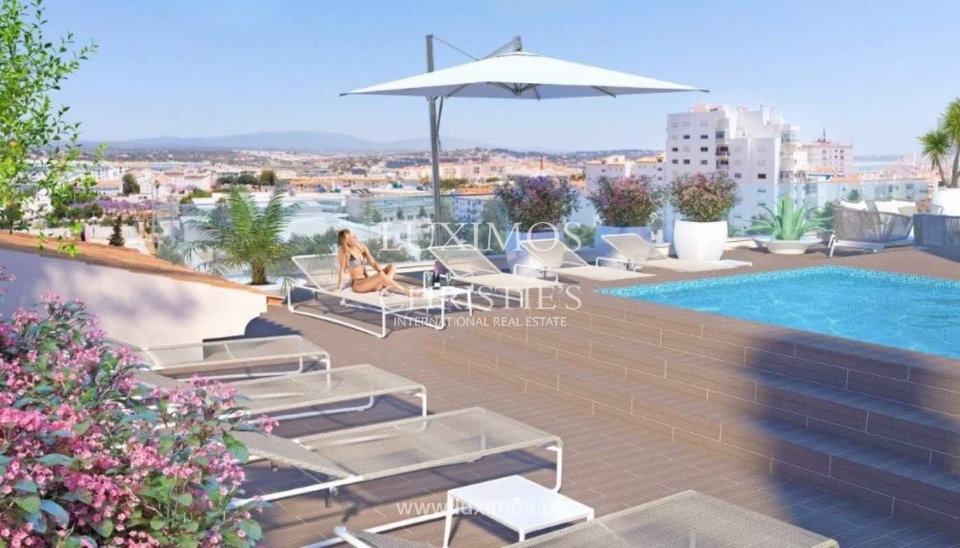 Sale of apartment under construction, terrace, Lagos, Algarve, Portugal_141650