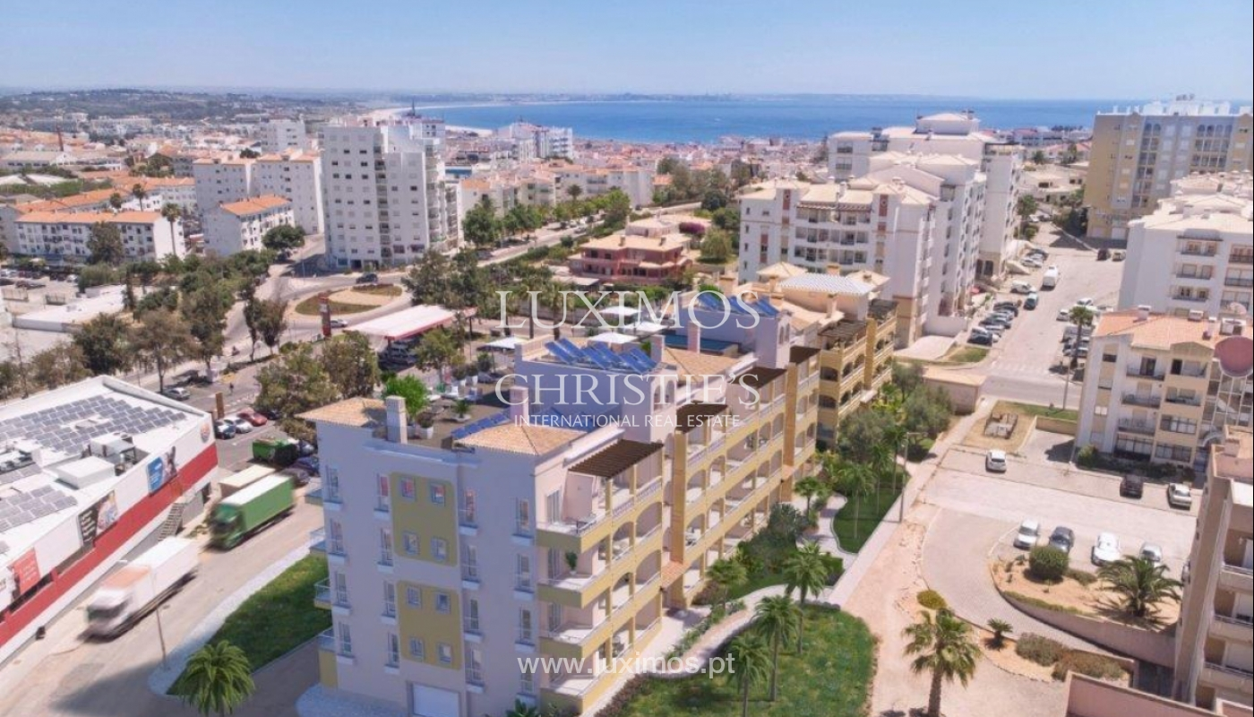 Sale of apartment under construction, terrace, Lagos, Algarve, Portugal_141652