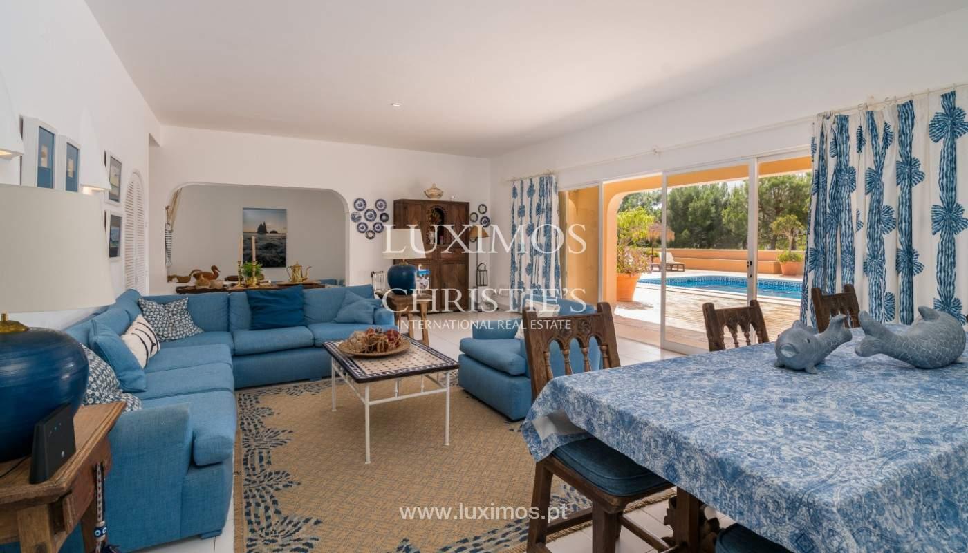 Vente de villa avec vue sur le mer,Salgados, Albufeira, Algarve, Portugal_141780