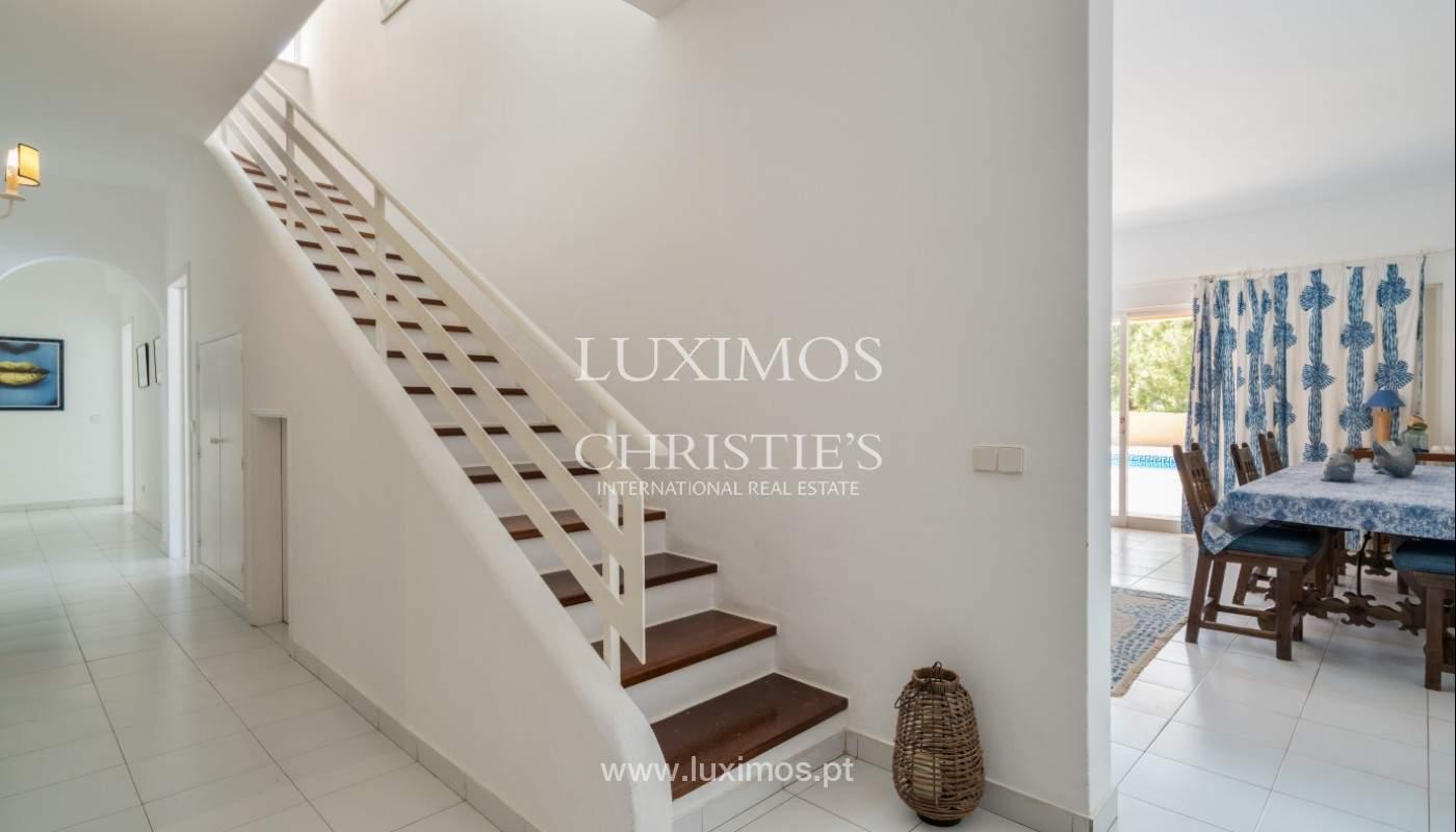 Vente de villa avec vue sur le mer,Salgados, Albufeira, Algarve, Portugal_141783