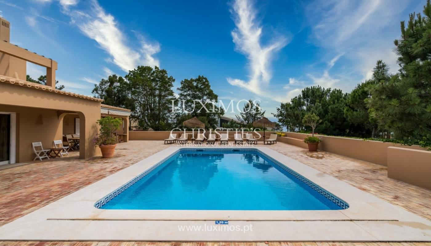 Vente de villa avec vue sur le mer,Salgados, Albufeira, Algarve, Portugal_141814