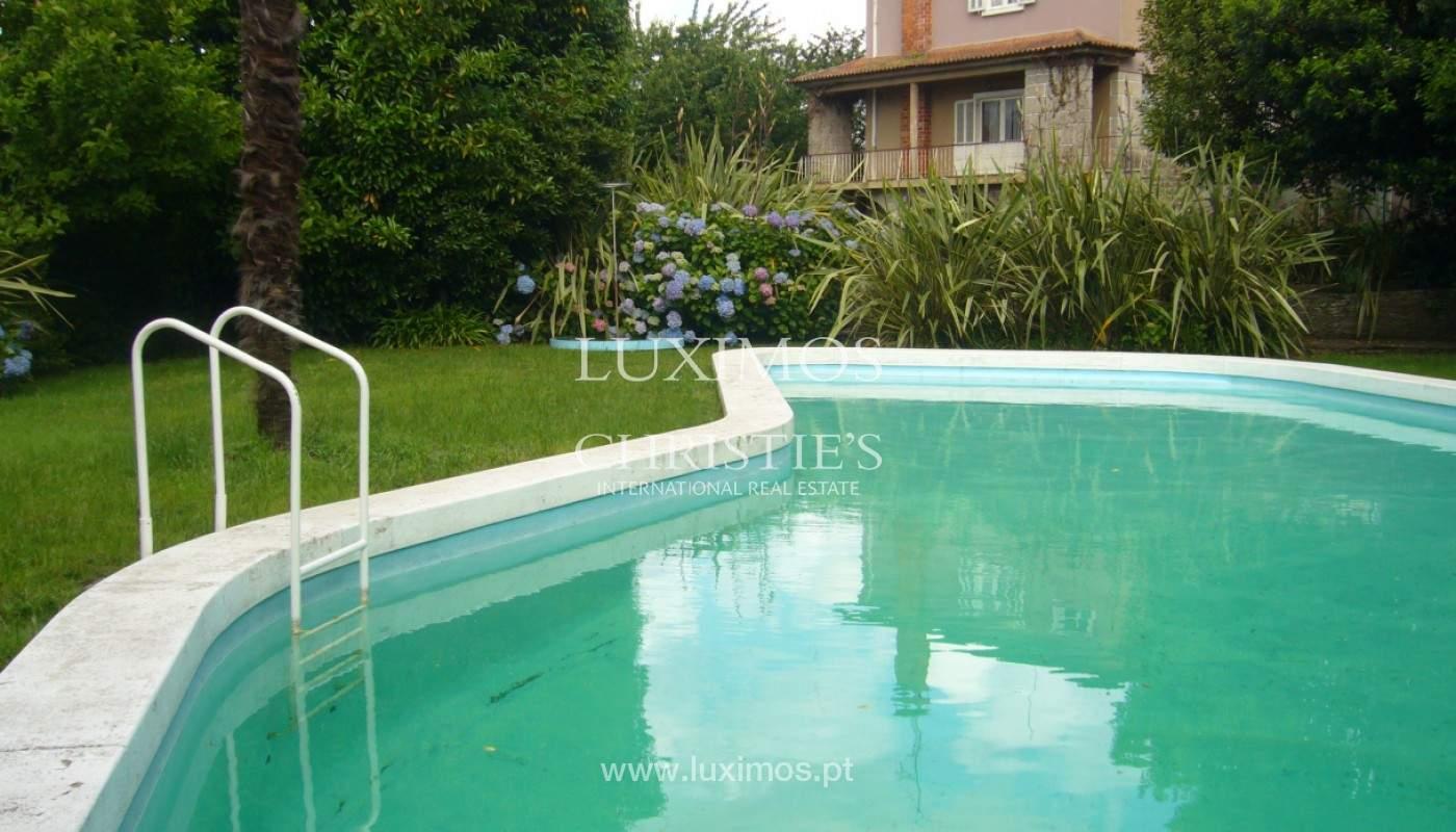 Venta de casa de campo, con jardines y piscina, V. N. Famalicão, Portugal_141820