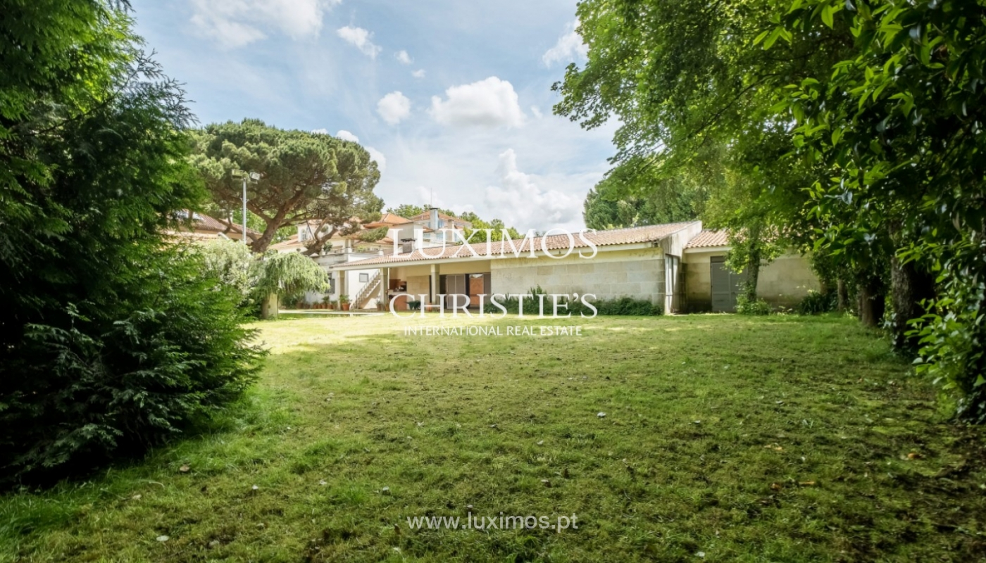 Centenary house with pool and garden, for sale, Porto, Portugal_141888