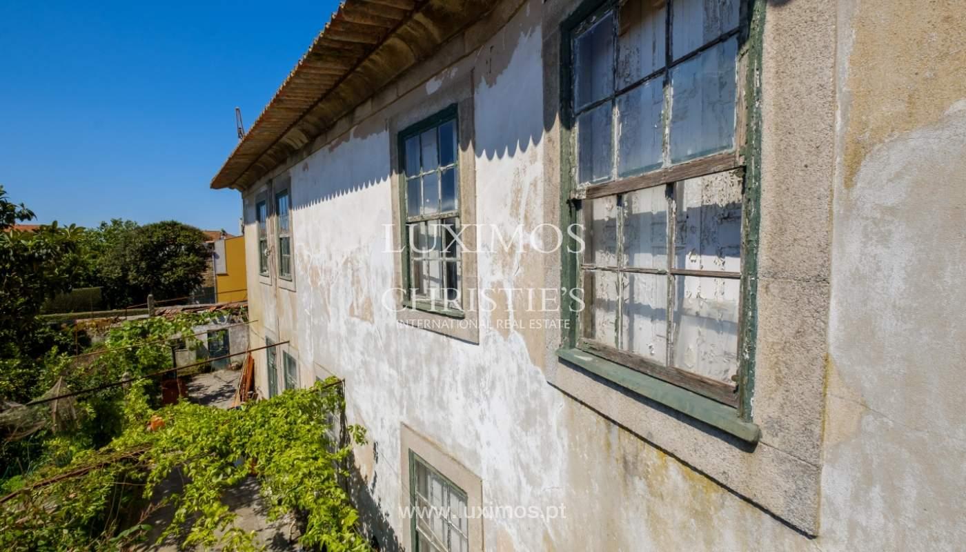 Venda de moradia com jardim, para reabilitação, Foz Velha, Porto_141896