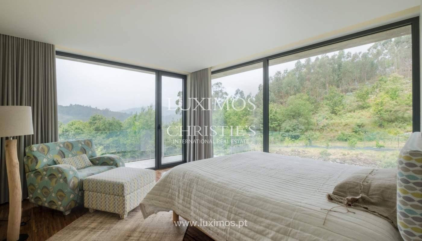 Verkauf Villa mit Blick auf Fluss, Pool, Vieira Minho, Braga, Portugal_142518