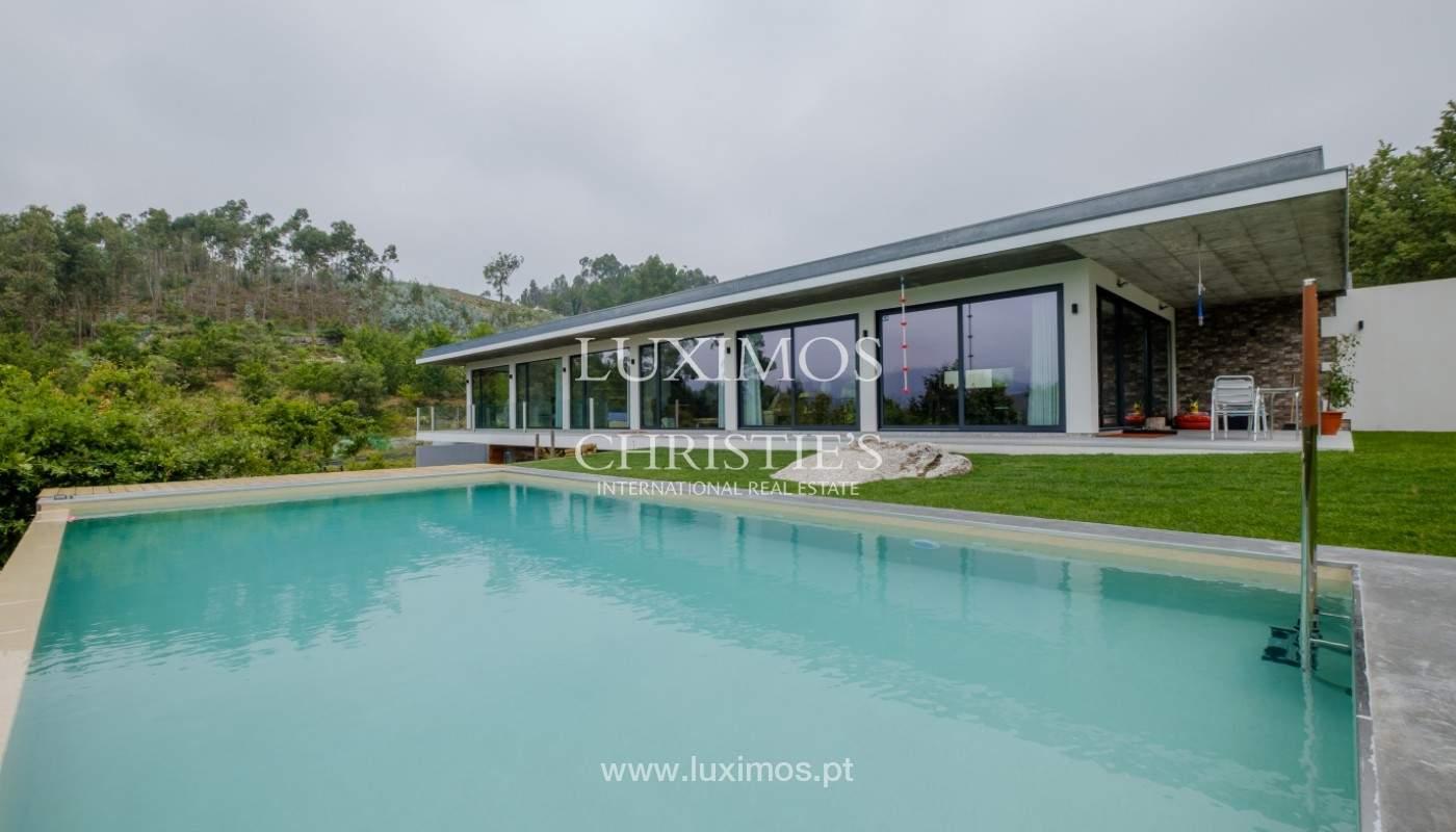 Venta villa con vistas al río y piscina, Vieira Minho, Braga, Portugal_142553