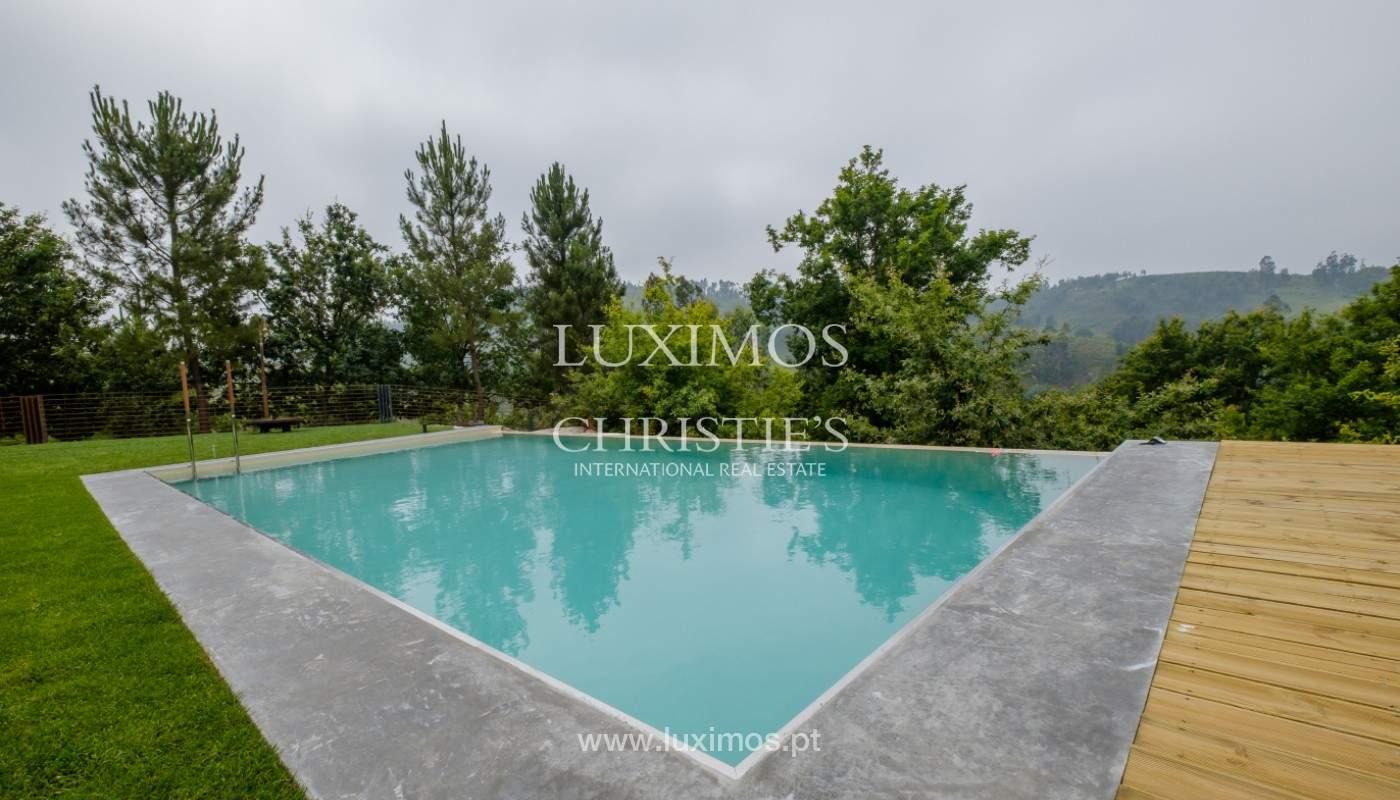 Verkauf Villa mit Blick auf Fluss, Pool, Vieira Minho, Braga, Portugal_142556