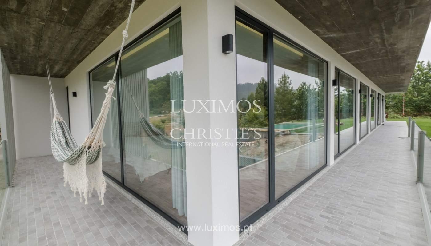 Verkauf Villa mit Blick auf Fluss, Pool, Vieira Minho, Braga, Portugal_142560