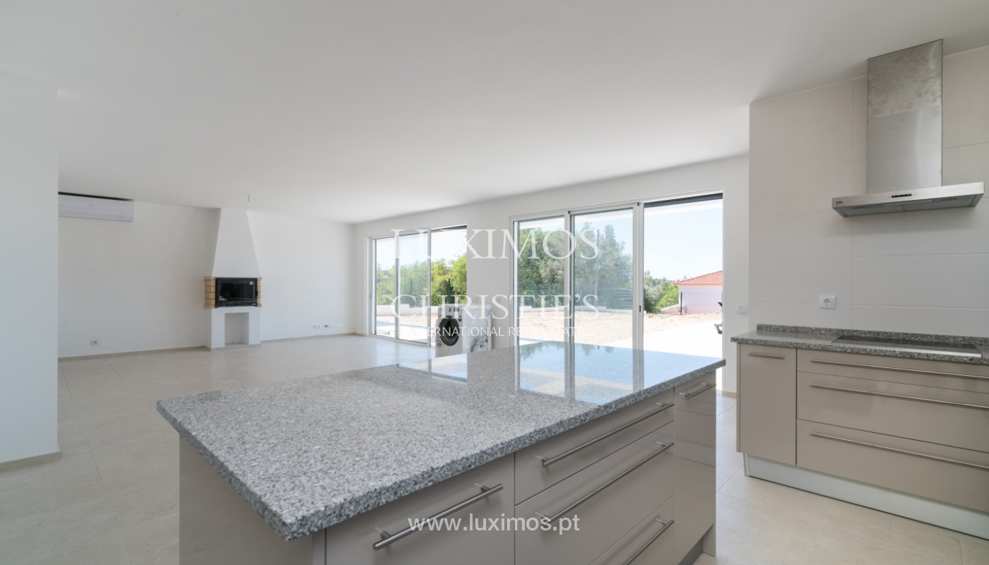 Sale of new contemporary villa with pool in Loulé, Algarve, Portugal_142806