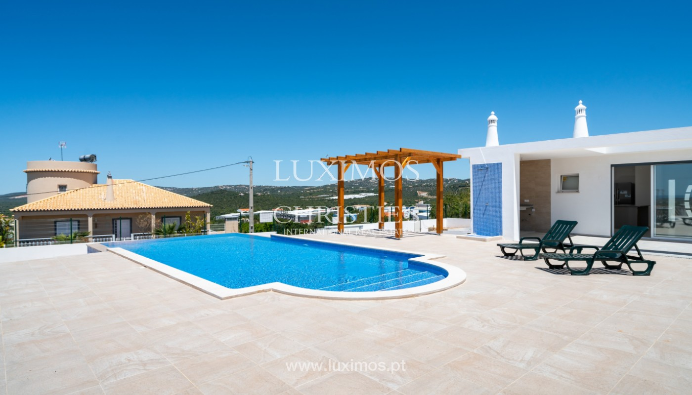 Sale of new contemporary villa with pool in Loulé, Algarve, Portugal_142838