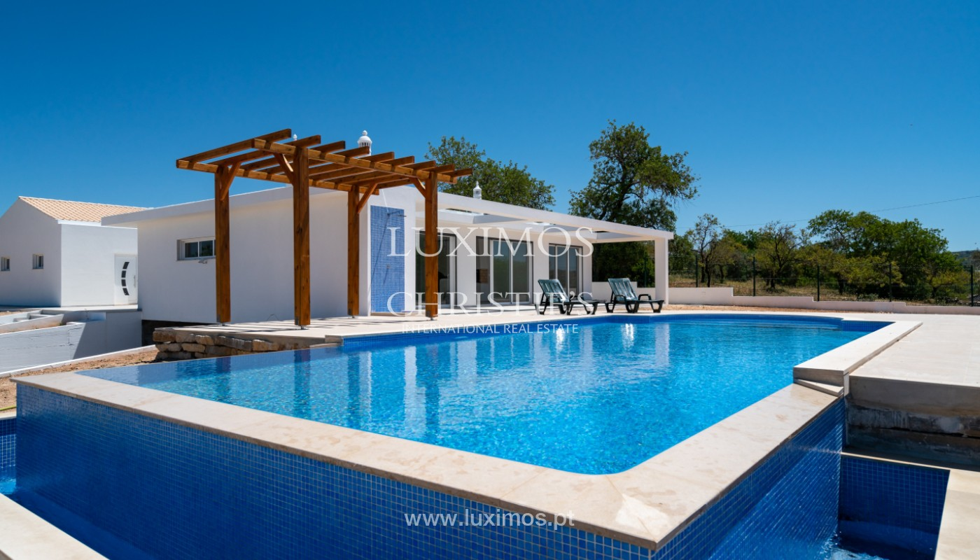 Sale of new contemporary villa with pool in Loulé, Algarve, Portugal_142842