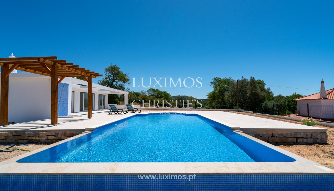 Sale of new contemporary villa with pool in Loulé, Algarve, Portugal_142843