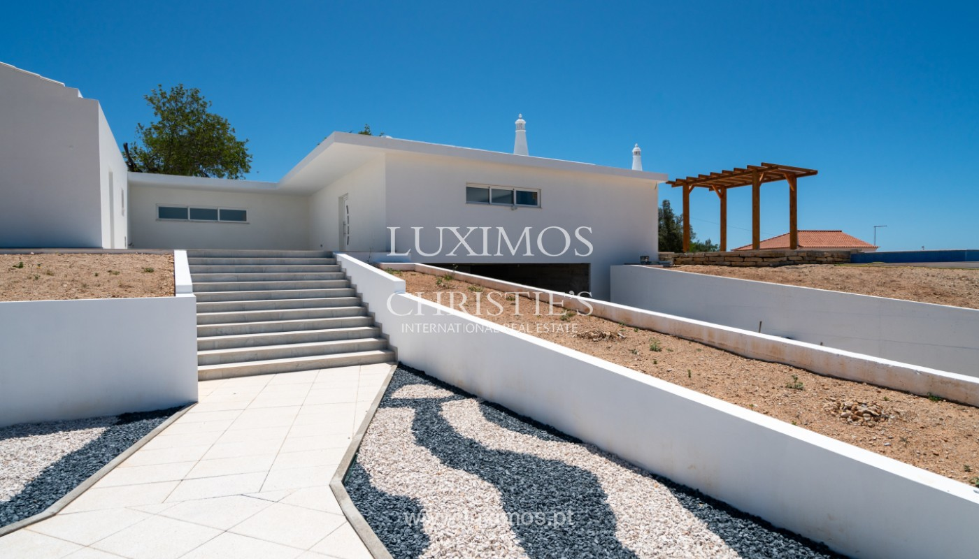 Sale of new contemporary villa with pool in Loulé, Algarve, Portugal_142848