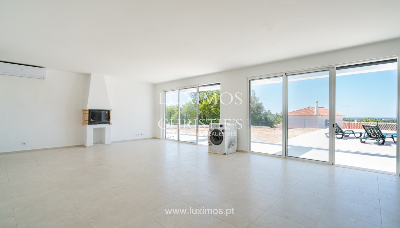 Sale of new contemporary villa with pool in Loulé, Algarve, Portugal_142854