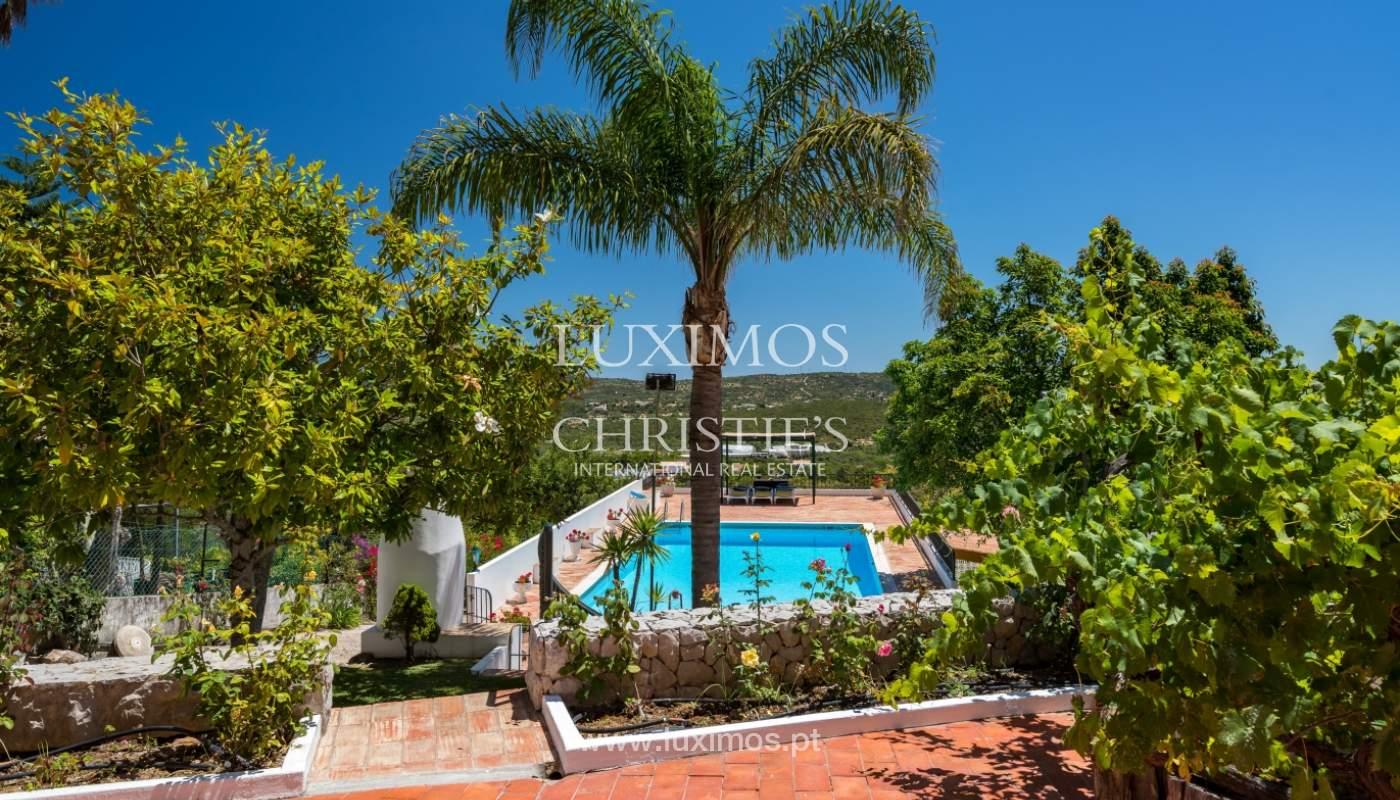 Venta de villa con piscina y jardín, S. Brás Alportel, Algarve, Portugal_142865