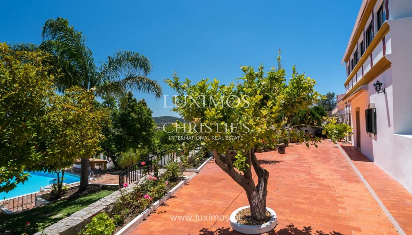 Venta de villa con piscina y jardín, S. Brás Alportel, Algarve, Portugal_142868