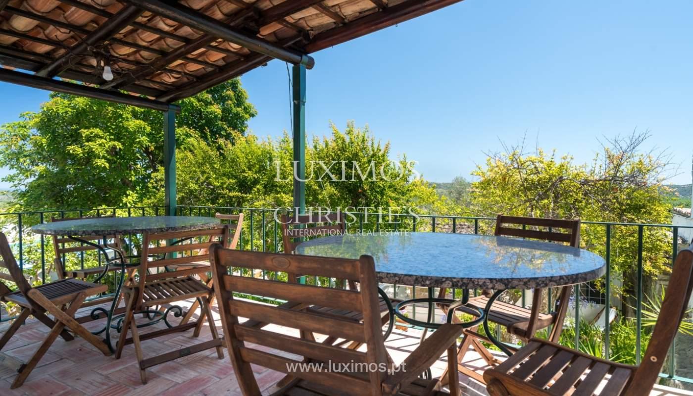 Venta de villa con piscina y jardín, S. Brás Alportel, Algarve, Portugal_142871