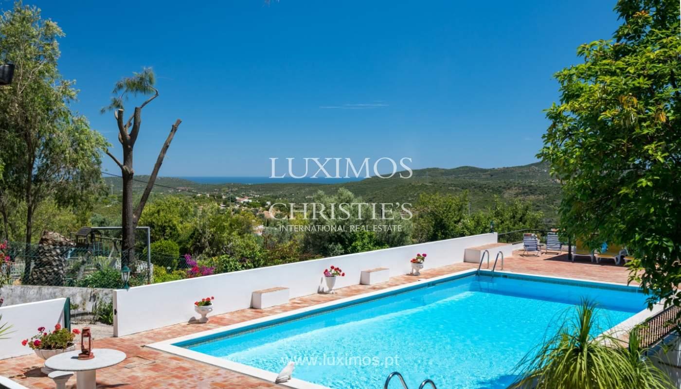 Venta de villa con piscina y jardín, S. Brás Alportel, Algarve, Portugal_142877