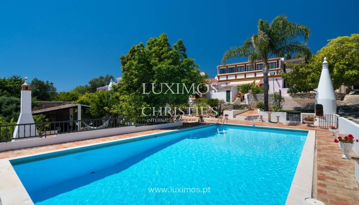 Venta de villa con piscina y jardín, S. Brás Alportel, Algarve, Portugal_142884