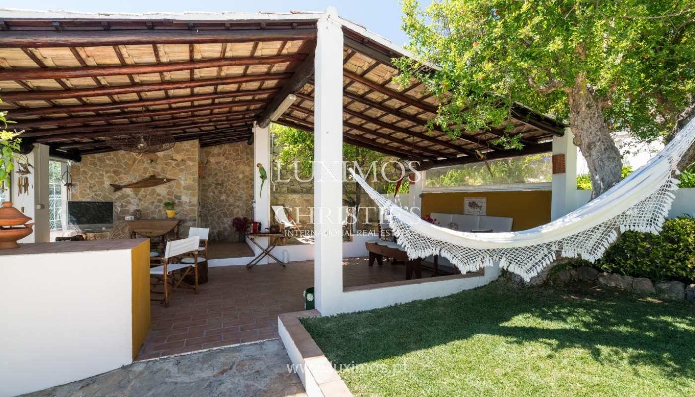 Venta de villa con piscina y jardín, S. Brás Alportel, Algarve, Portugal_142889