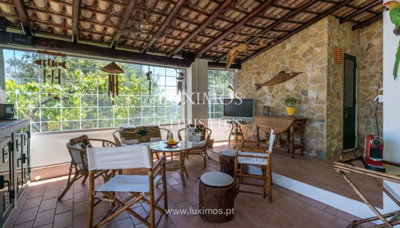 Venta de villa con piscina y jardín, S. Brás Alportel, Algarve, Portugal_142895