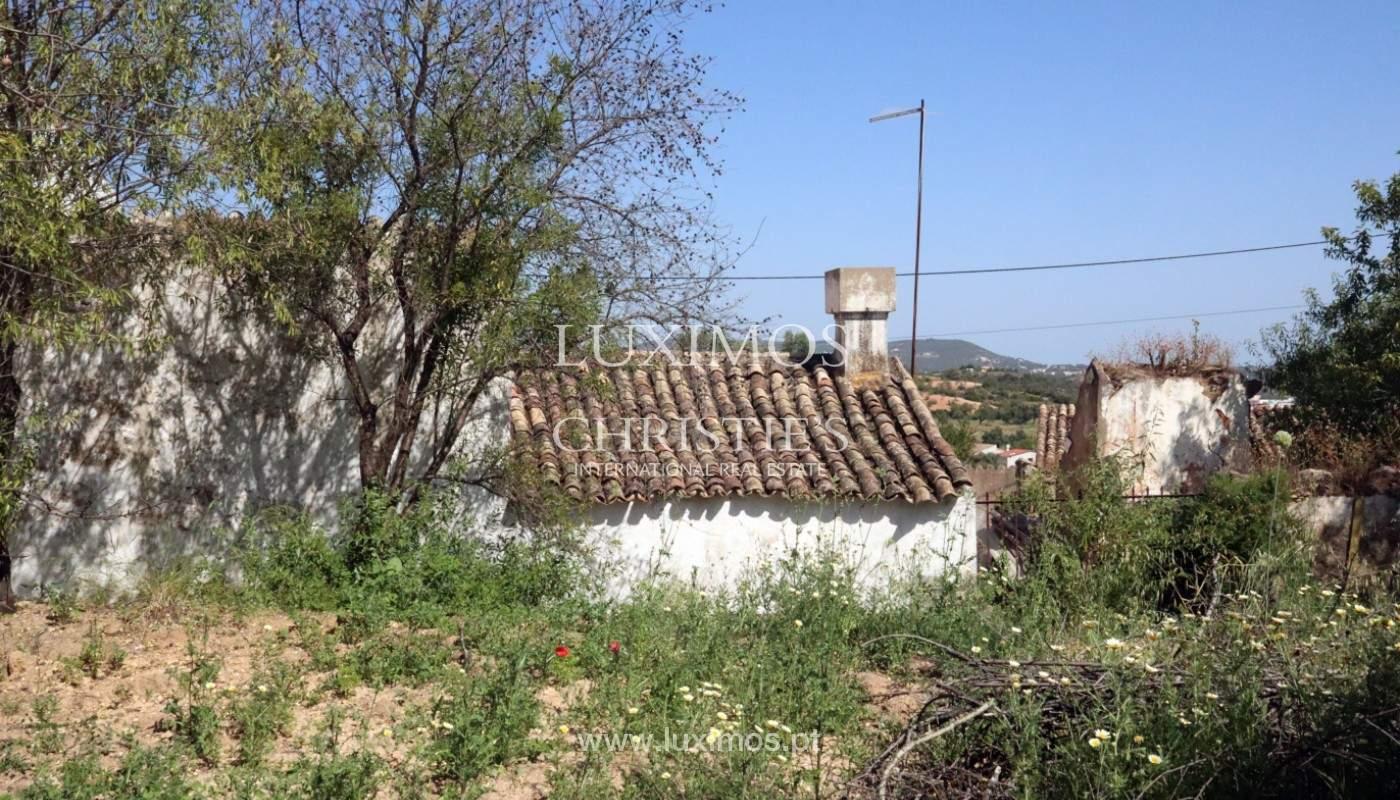 Land, zu verkaufen, mit Ruine zum Wiederaufbau und Meerblick, Loulé_143365