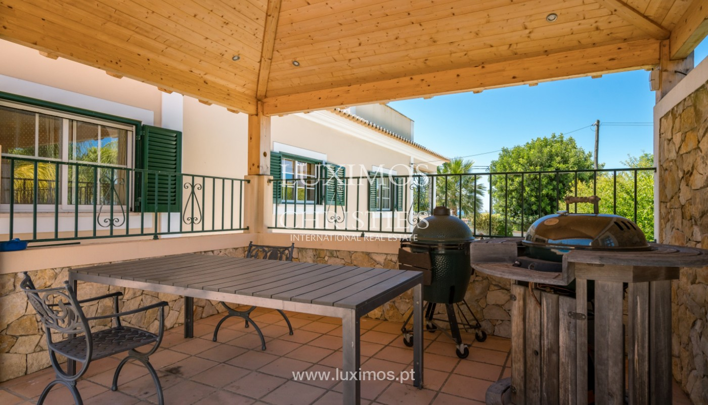 Villa with pool and garden, for sale, Boliqueime, Algarve, Portugal_143491
