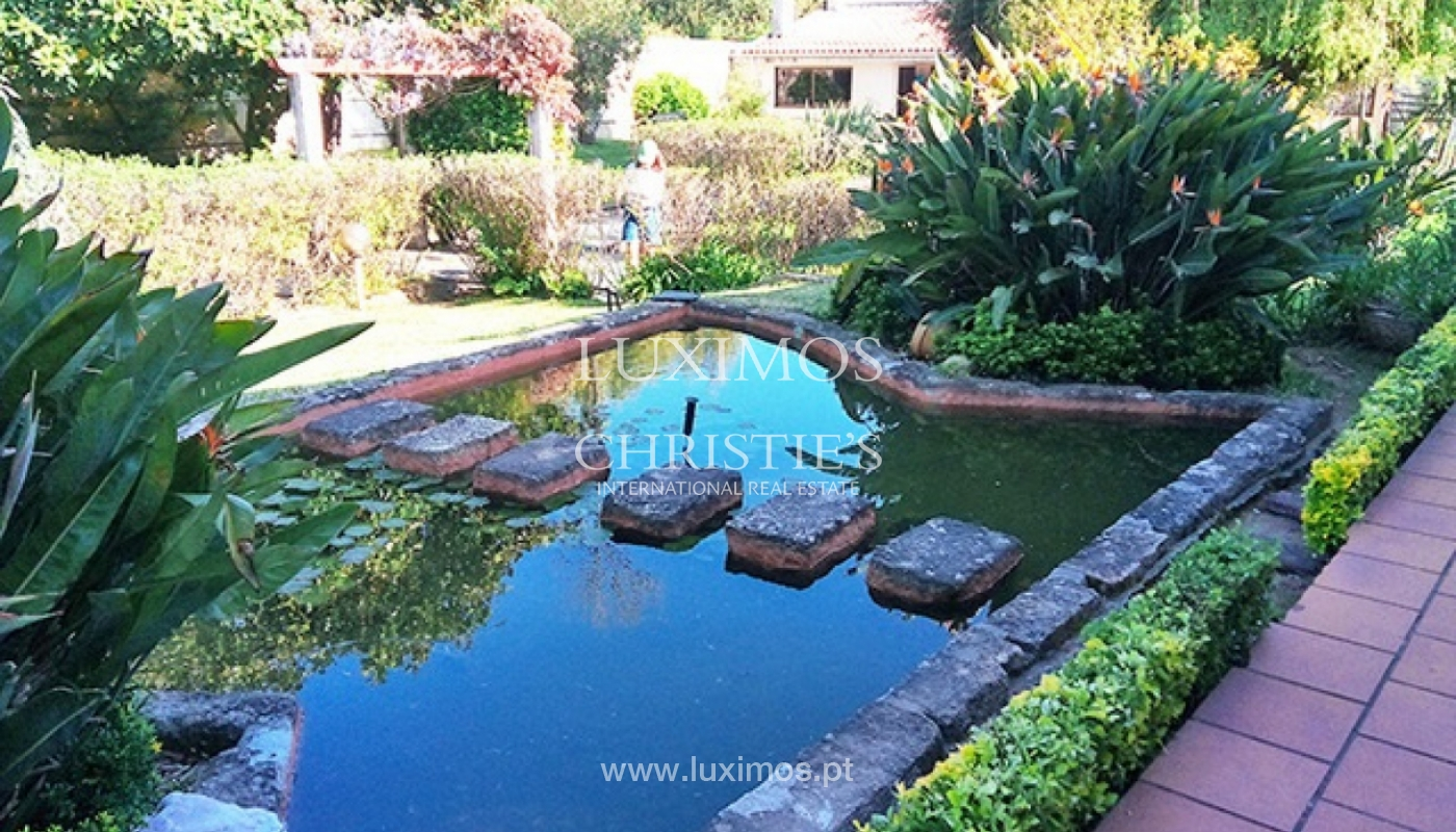 Sale of villa with garden and pool, by sea, in Porto, Portugal_143891