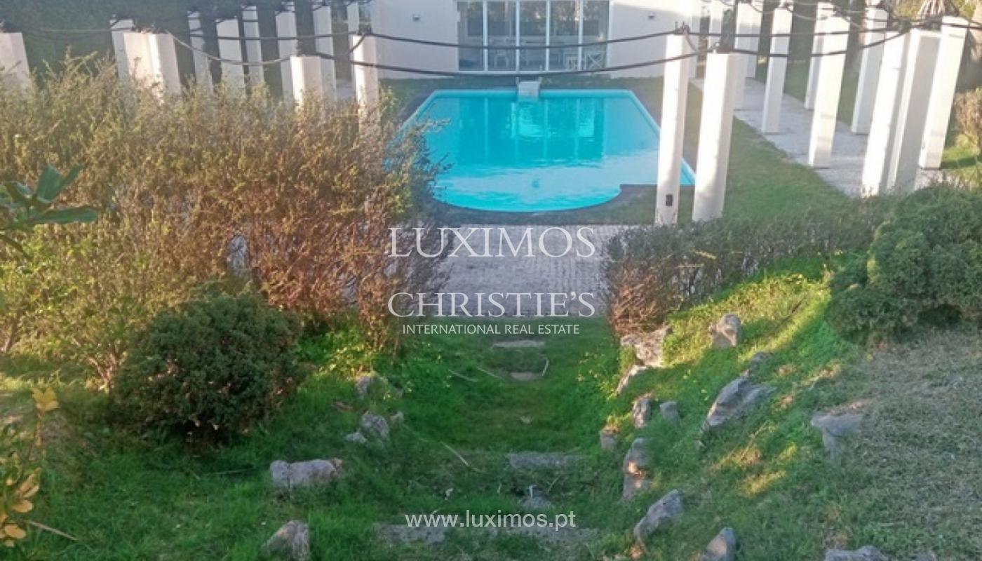 Sale of villa with garden and pool, by sea, in Porto, Portugal_143893