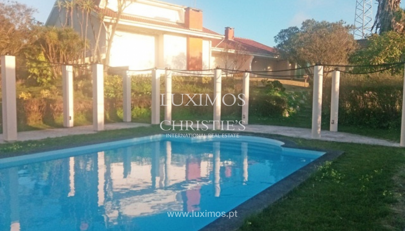 Sale of villa with garden and pool, by sea, in Porto, Portugal_143897