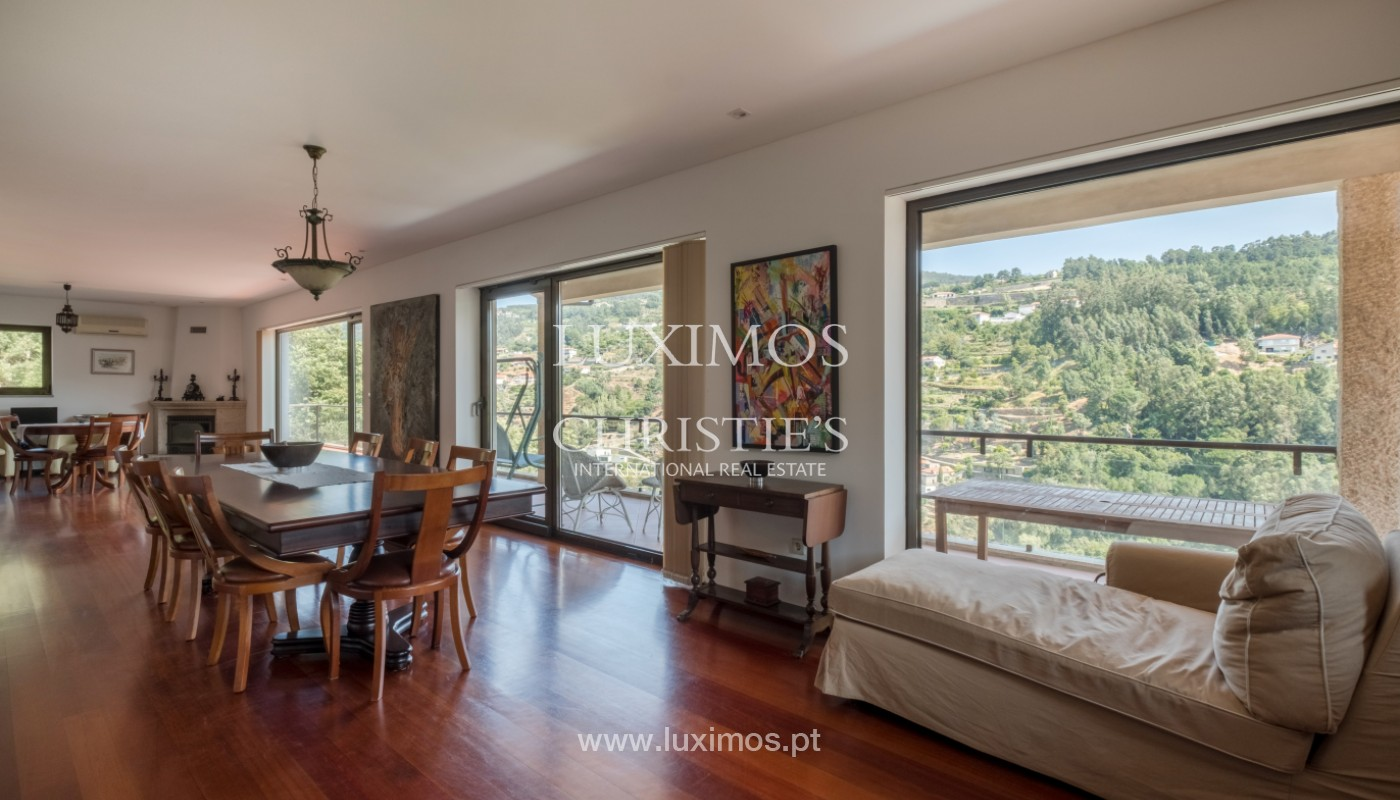 Farm overlooking the Douro River, for sale, at Cinfães, Portugal_143990