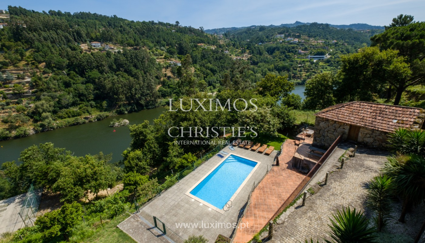 Farm overlooking the Douro River, for sale, at Cinfães, Portugal_144039