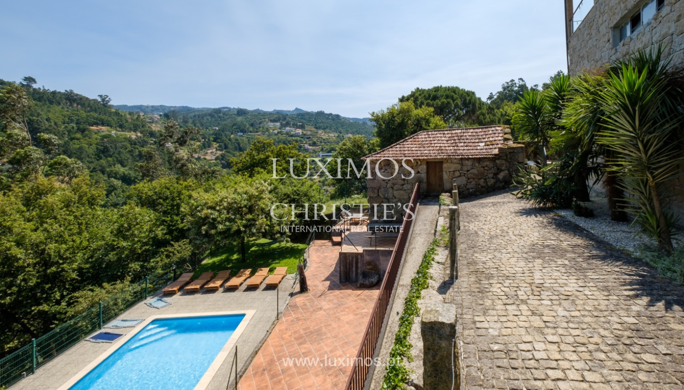 Farm overlooking the Douro River, for sale, at Cinfães, Portugal_144044