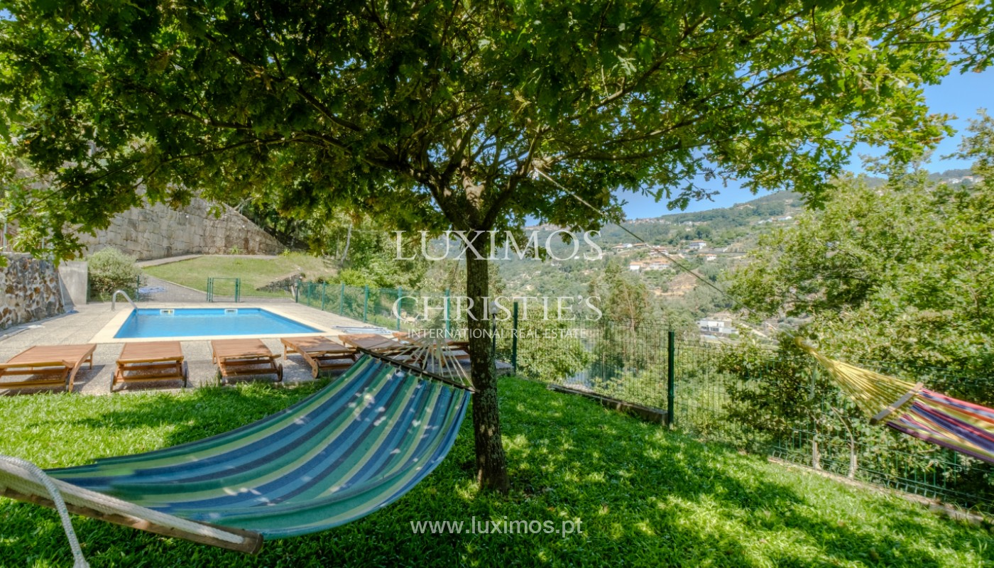 Farm overlooking the Douro River, for sale, at Cinfães, Portugal_144053