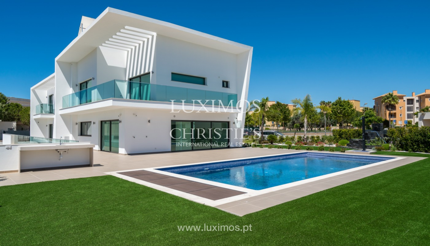 Villa contemporaine avec piscine,au Golf, Vilamoura, Algarve, Portugal_144247