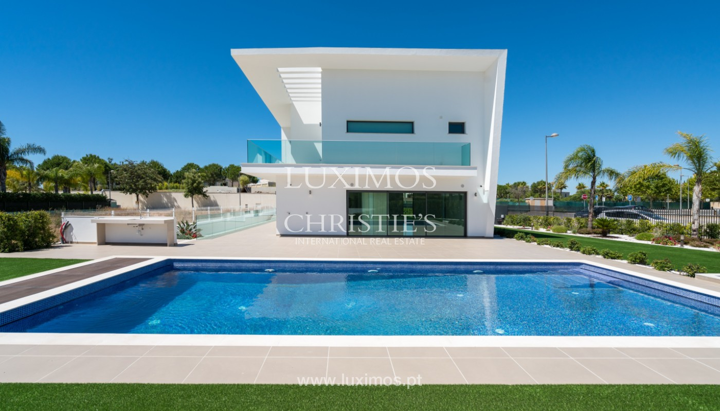 Villa contemporaine avec piscine,au Golf, Vilamoura, Algarve, Portugal_144248