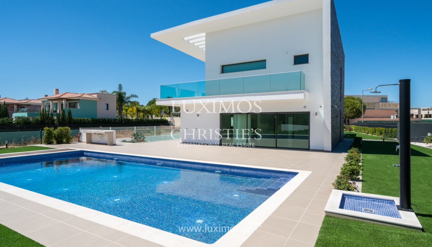 Villa contemporaine avec piscine,au Golf, Vilamoura, Algarve, Portugal_144249