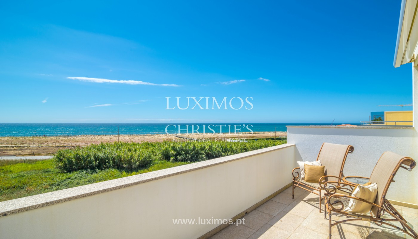 Beachfront Villa on first line of sea, for sale, Lavra, Portugal_144265