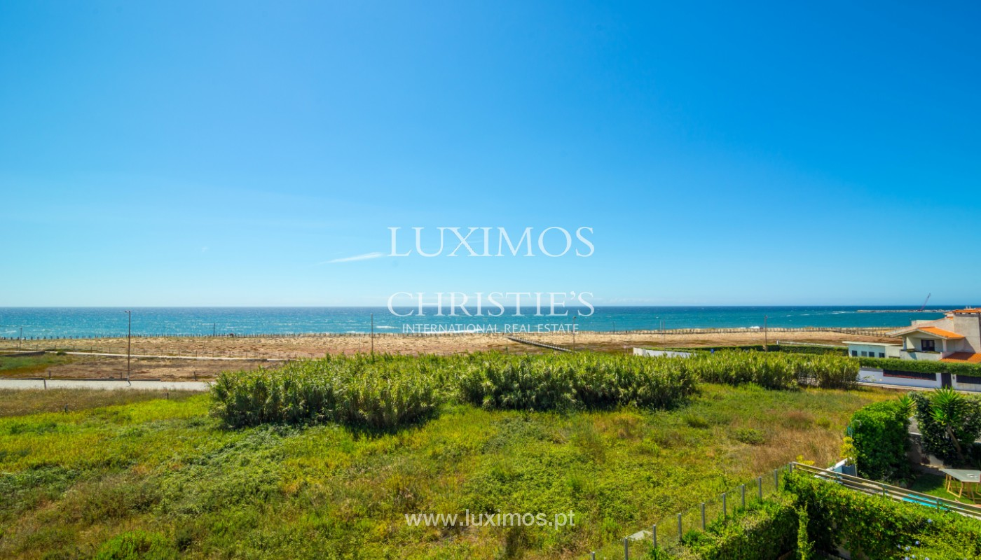 Beachfront Villa on first line of sea, for sale, Lavra, Portugal_144272