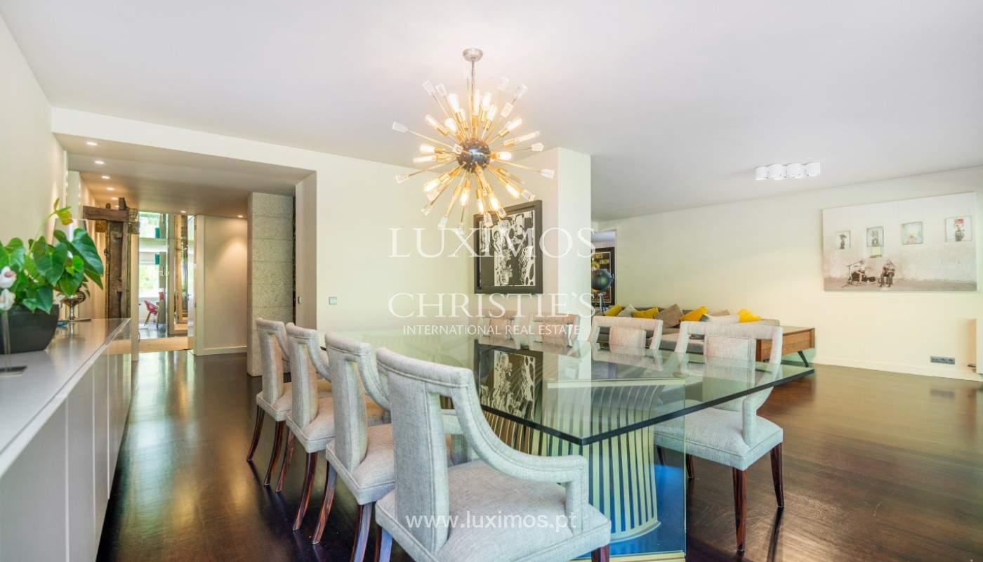 Verkauf Luxuswohnung mit Terrasse, privater Eigentumswohnung, Foz, Portugal_144295
